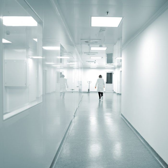 textured durable scrubbable antimicrobial wide width fabric backed vinyl wallcovering for healthcare hospital interiors